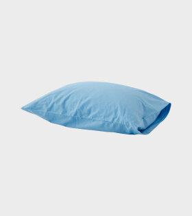 Percale Pillow Dove Blue