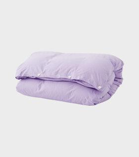 Percale Duvet Lavender
