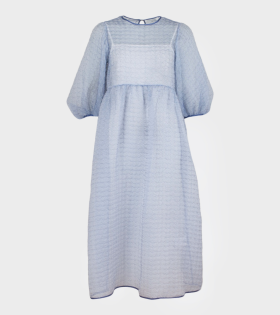 Karmen Dress Cotton Blue