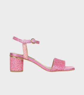 Oda Heels Pink Glitter