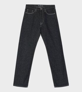 Acne Studios - Face Patch Jeans Black