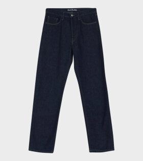 Face Patch Jeans Indigo
