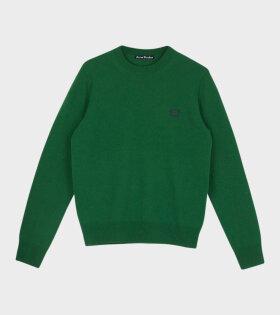 Kalon Face Sweater Mineral Green