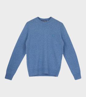 Kalon Face Sweater Mineral Blue