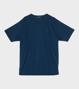 Acne Studios - Nash Face T-shirt Midnight Blue
