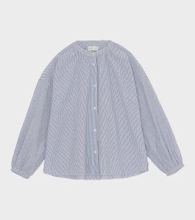 Cilla Shirt Blue/White
