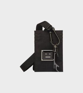 Acne Studios - Ripstop Face Cardholder Black