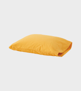 Percale Pillow Amber Yellow