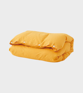 Percale Duvet Amber Yellow