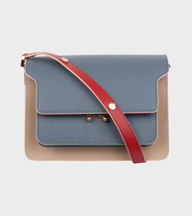 Medium Trunk Bag Grey/Beige/Red
