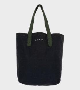Shopping Bag Black/Green