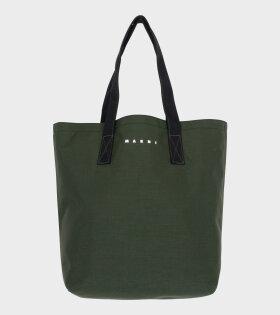 Shopping Bag Green/Black