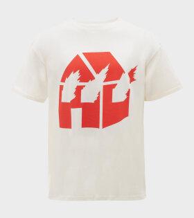 JW X DW T-shirt Off-white