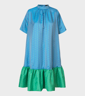 Wendy Dress Blue Green