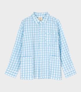 Jytte Shirt Light Blue/White