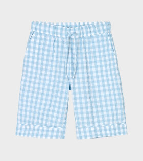 Jenda Shorts Light Blue/White
