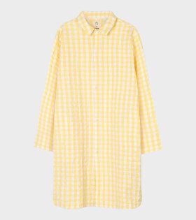 Jette Long Shirt Yellow/White