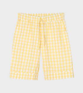 Jenda Shorts Yellow/White