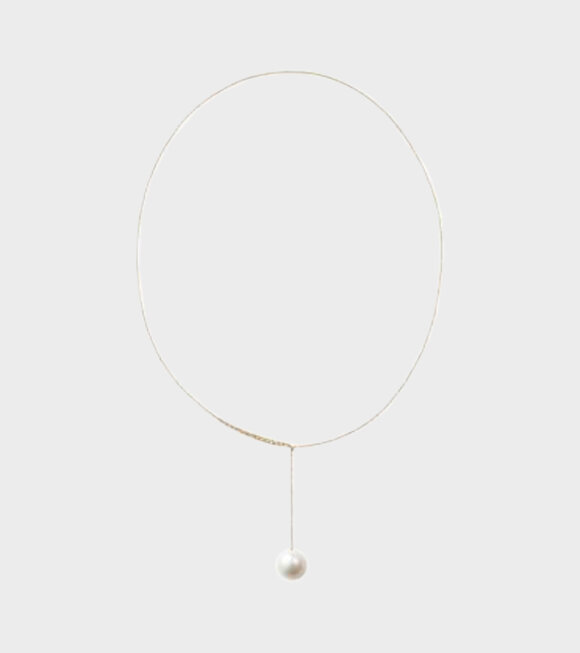 Sophie Bille Brahe - Sirene Perle Necklace Yellow Gold