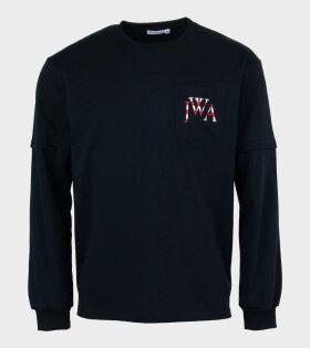 Trompe L'oeuil T-shirt Black