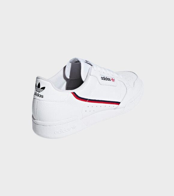 Adidas  - Continental 80 White