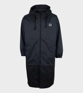 Acne Studios - Face Plaque Technical Raincoat Black