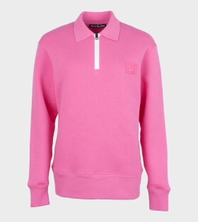 Acne Studios - Oversized Point Collar Sweatshirt Pink