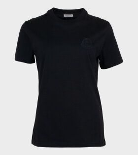 Girocollo Logo T-shirt Black