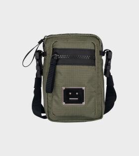 Acne Studios - Logo Plaque Pocket Bag Khaki Green