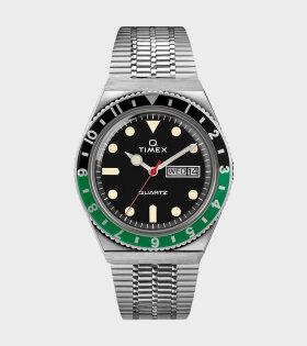 Timex - Q Timex Reissue Silver/Black/Green