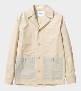 Norse Projects - Mads 60/40 Blazer Oatmeal Off-white