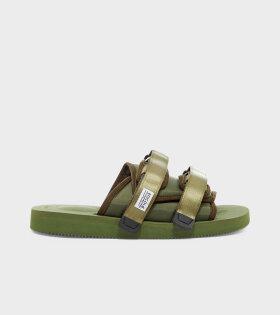 MOTO-Cab Sandals Olive