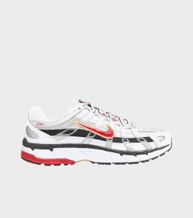 Nike - P-6000 White/Varsity Red