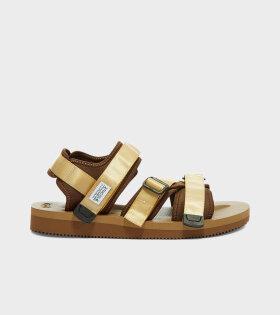Kisee-V Sandals Tan
