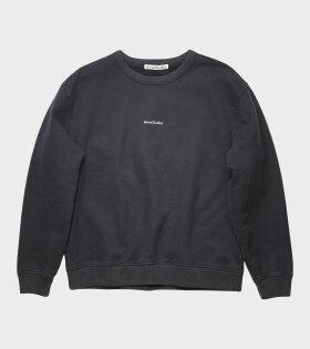 Logo Print Sweatshirt Black