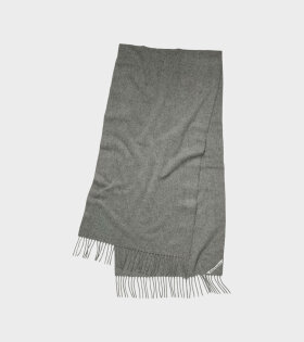 Canada Narrow New Scarf Grey Melange