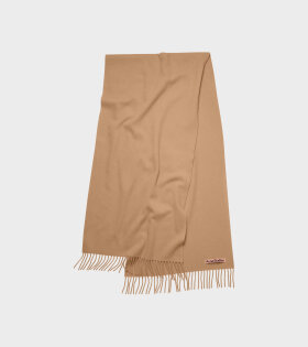 Acne Studios - Canada Narrow New Scarf Caramel Brown