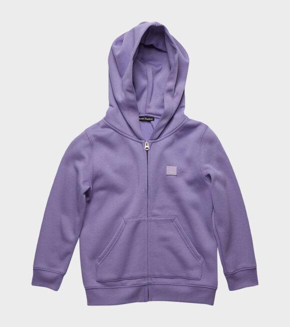Acne Studios - Mini Hooded Sweatshirt Purple