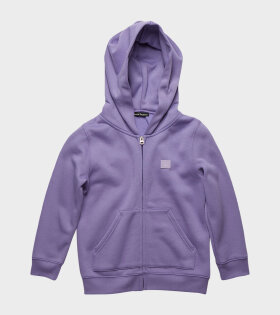 Mini Hooded Sweatshirt Purple