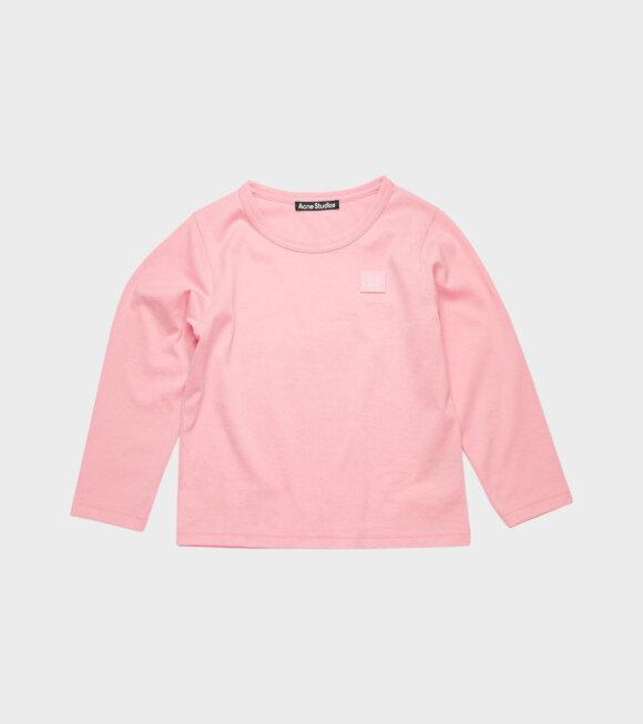 Acne Studios - Mini Nash LS T-shirt Pink