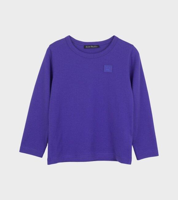 Acne Studios - Mini Nash LS T-shirt Electric Blue