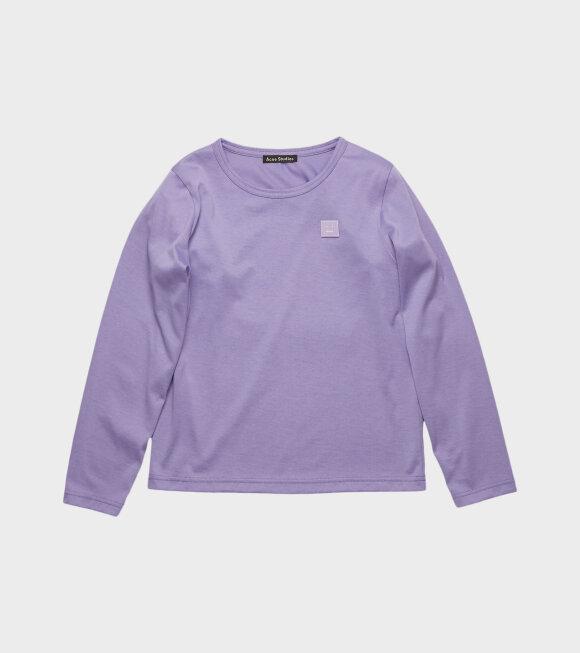Acne Studios - Mini Nash LS T-shirt Purple