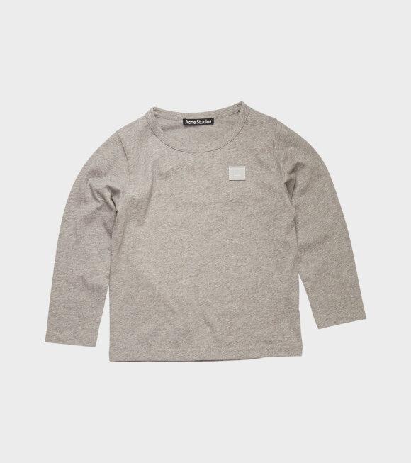 Acne Studios - Mini Nash LS T-shirt Grey