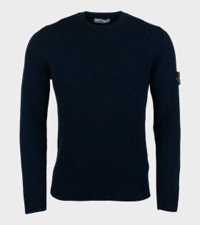 Stone Island - Crewneck Knit Blue