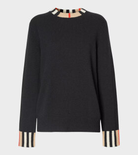 Burberry - Eyre Knit Black