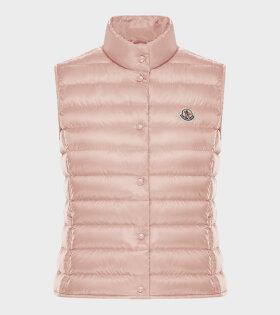 Moncler - Liane Gilet Vest Pink