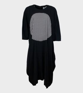 Henrik Vibskov - Ion Dress Check Circle Black