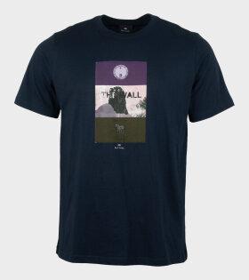 Paul Smith - S/S Print T-Shirt Blue