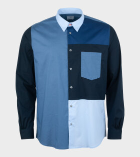 Paul Smith - L/S Casual Fir Shirt Blue
