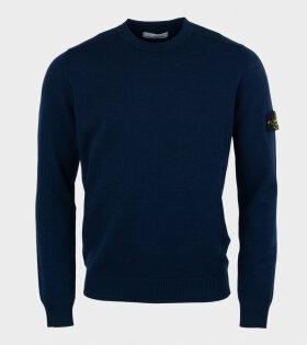 Stone Island - Knitwear Casual Fit Blue